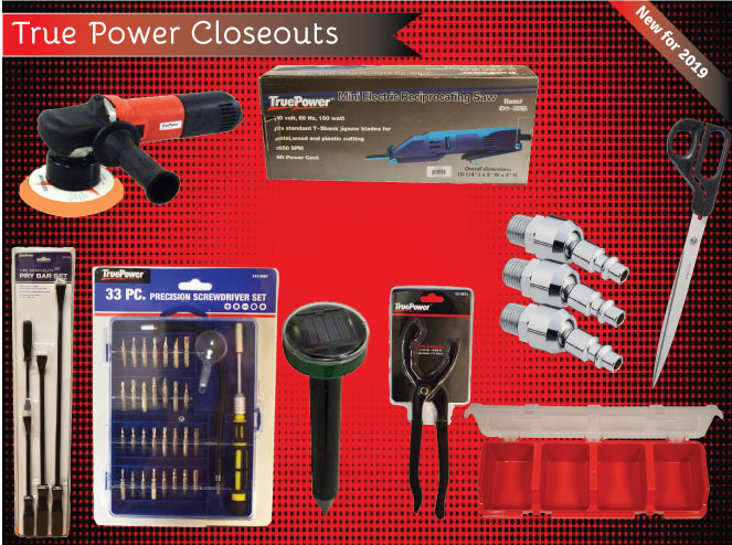 Jump to our Wholesale True Power Closeouts