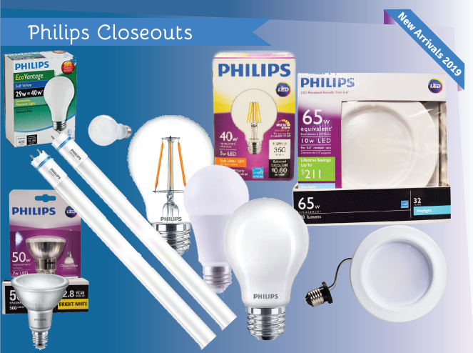 Jump to our Wholesale Philips Closeouts