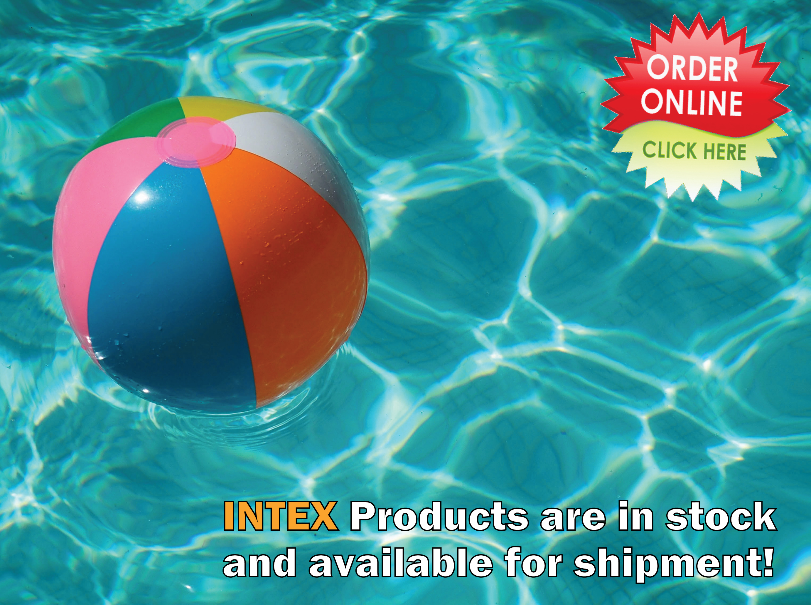 Jump to our Wholesale NEW Intex products!
