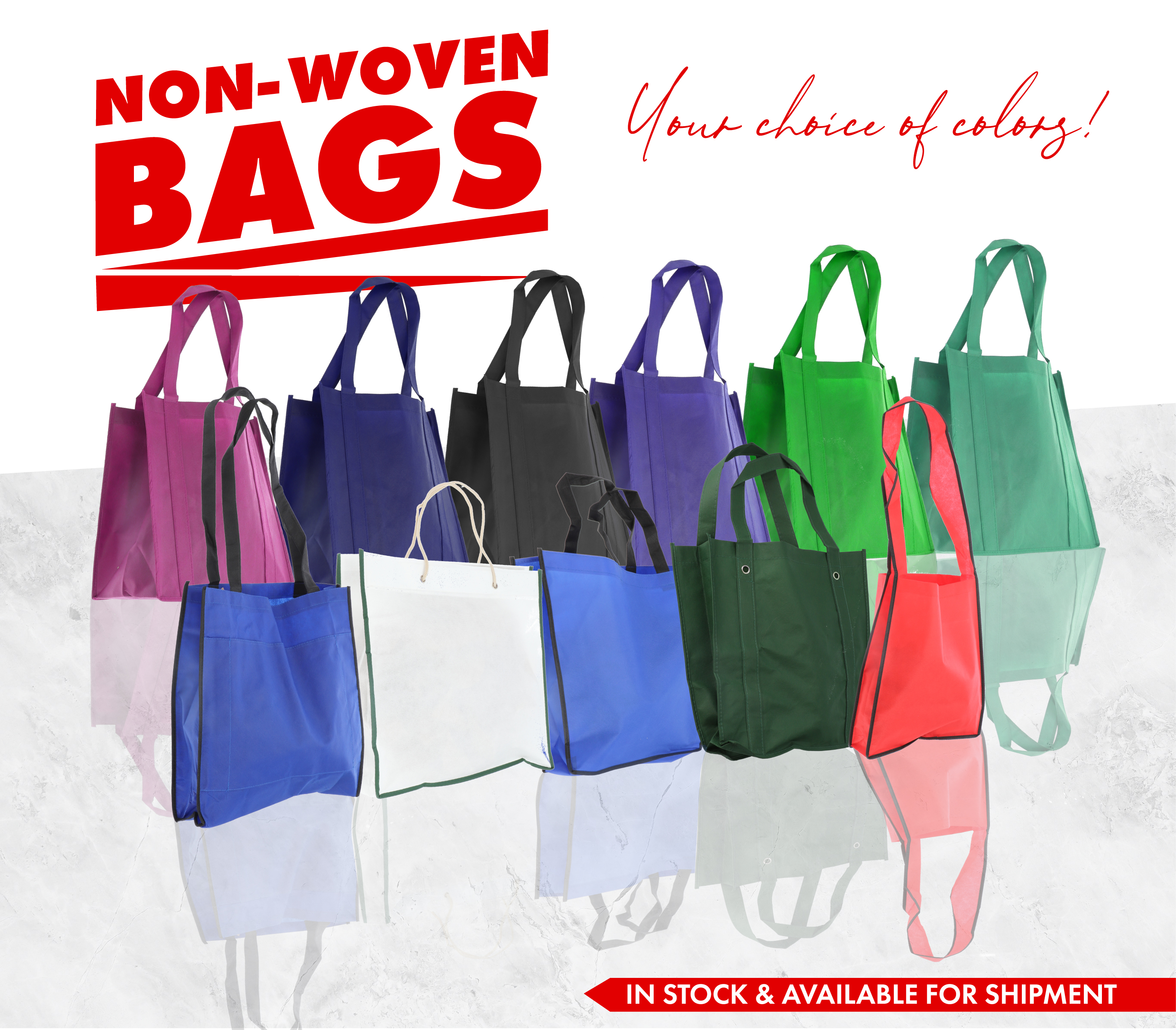 Jump to our Wholesale Non-woven bags