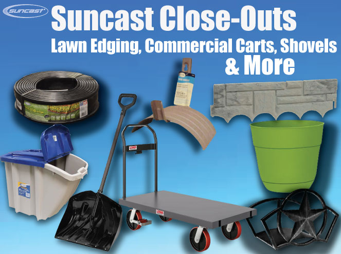 Jump to our Wholesale Suncast Lawn And Garden